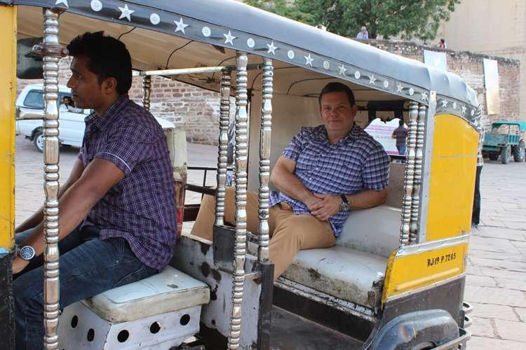 Gary Mehigan in New Delhi