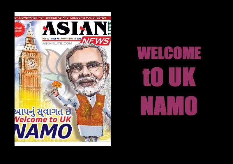 NAMO welcome