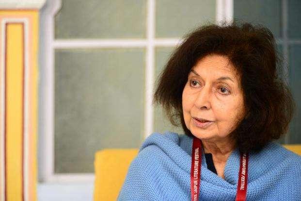 Author Nayantara Sahgal