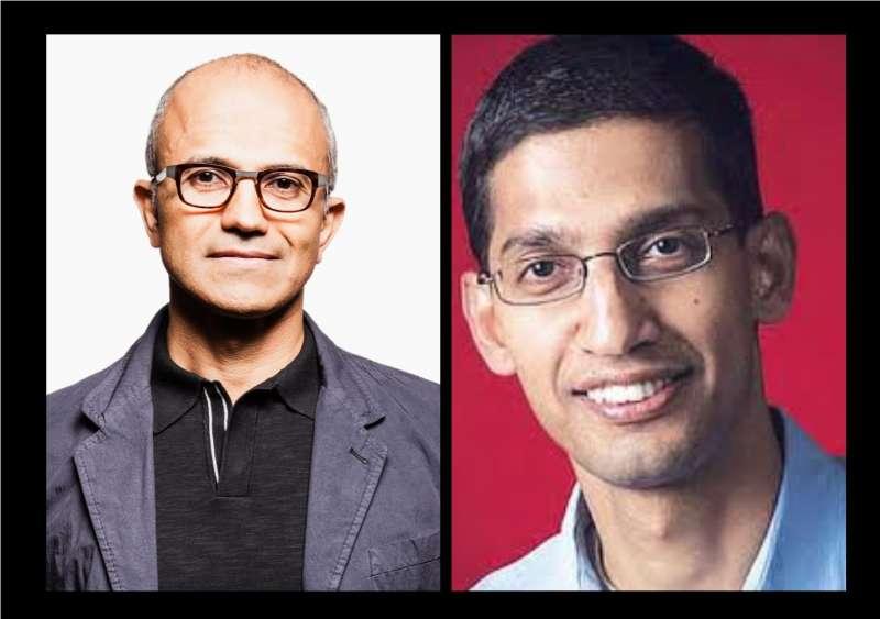 Satya Vs Sundar - Google Microsoft
