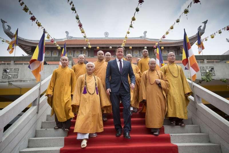 British Prime Minister David Cameron during his trip to South East Asia (File) - Pic - David Rose
