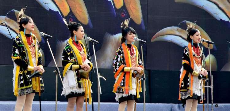 Four Tetseo siblings - Azi, Mercy, Kuvelu and Alune