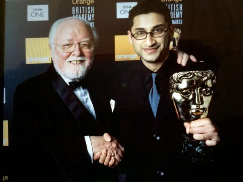 Asif Kapadia with Sir Ricghard Attenborough