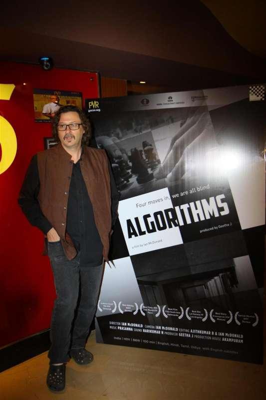 British film maker Ian Mcdonald