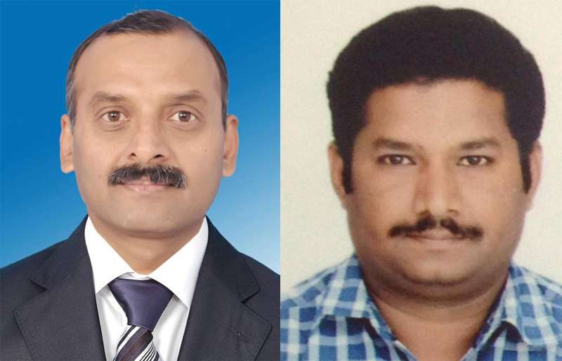 Vijay Kumar (L) and Lakshmikant (R), who were abducted along with two others in Sirte in Libya, have been released on July 31, 2015. Four Indian men, including three who were working as lecturers, have been kidnapped in Sirte in Libya. The Islamic State is suspected to have carried out the kidnapping. Vijay Kumar hails from Mulbagal and Lakshmikant from Raichur of Karnataka. (