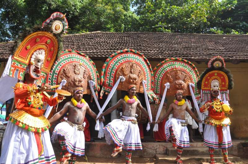 Atham procession underway at Tripunithura in Kochi on Aug 20, 2015. Atham marks the beginning of Onam festival in Kerala.