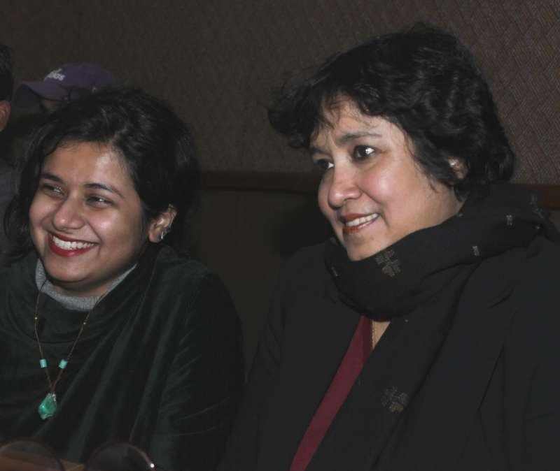 Creative And Academic Freedom Under Threat From Religious: TASLIMA: Secular Voices Under Threat In India, Bangladesh