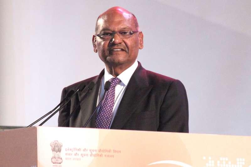 Vedanta Group Chairman Anil Agarwal addresses