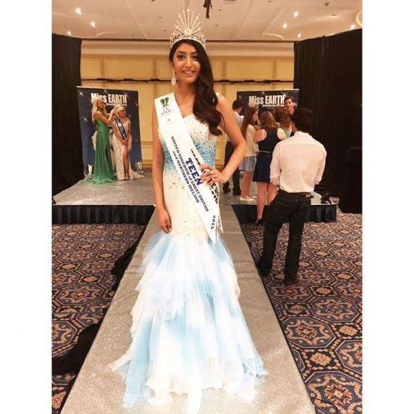 ANJALI SINHA - MISS TEEN EARTH UK 2015-