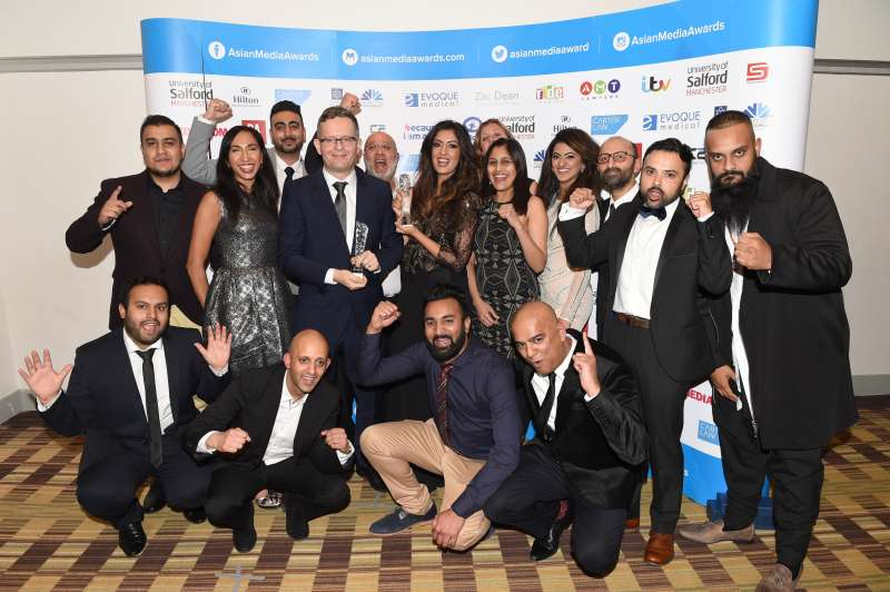 BBC Asian Network picked-up their third consecutive AMA  in the Radio Station of the Year category