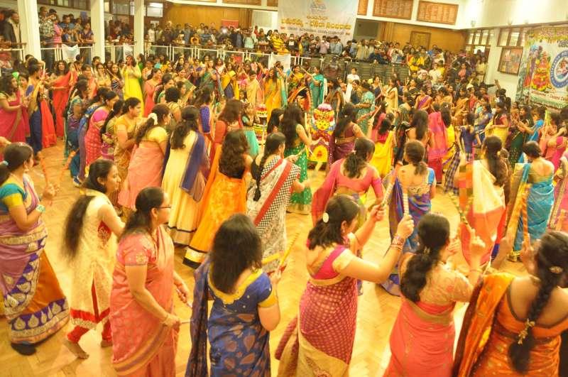 Telangana NRI Forum(TeNF) organised Bathukamma and Dasara celebrations in London