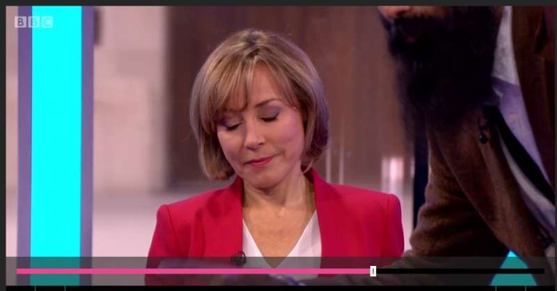 BBC journalist and anchor Sian Williams