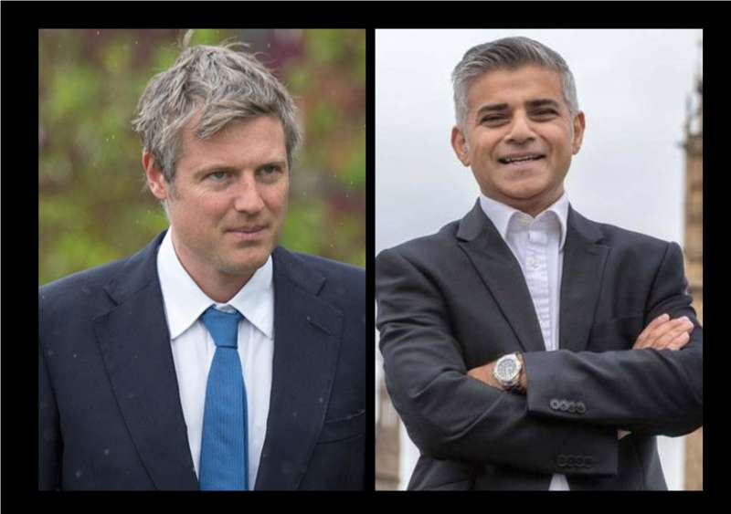 Frank Zacharias Robin Goldsmith aka Zac Goldsmith and Sadiq Khan to race for mayoral post in London