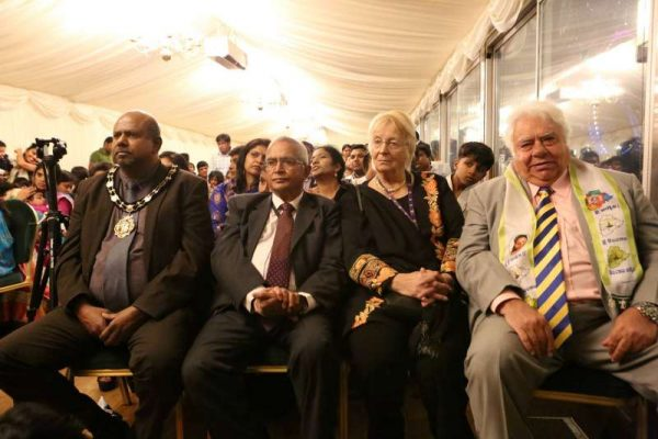Mr. Paul Sathianasan, Councillor of Newham, Lord Navnit Dholakia, Farokh Engineer (File)