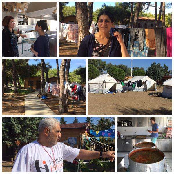 Pipka camp Lesbos - helping vulnerable refugees since 2012.