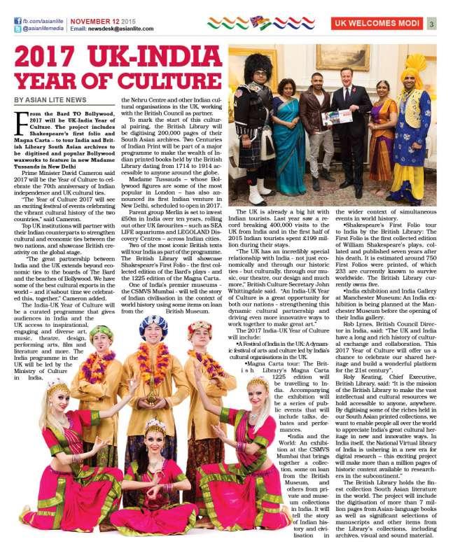 Asian Lite Modi Cultural