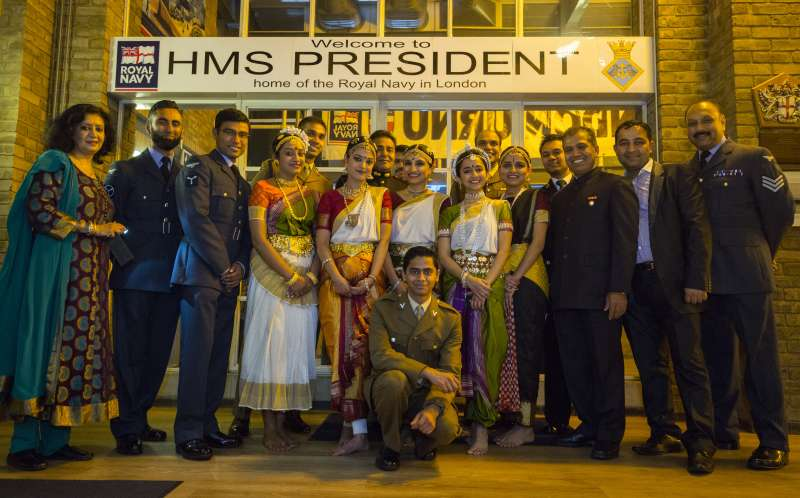 The Armed Forces celebrate Diwali