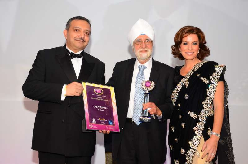 The Asian Curry Awards 2015 Winners were Announced at a gala ceremony at London Hilton