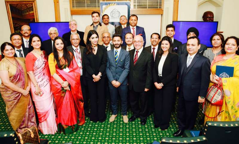 Participants of the second Global League Institute Certification at House of Commons in London