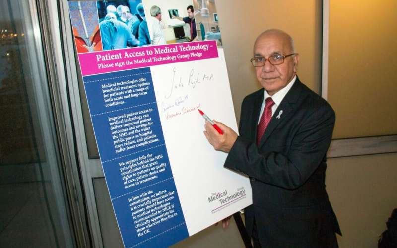 Sharma MP backs call for 50 year forward view for NHS