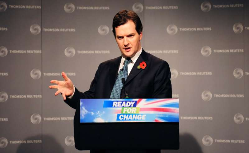 Chancellor George Osborne - Ready for Change...