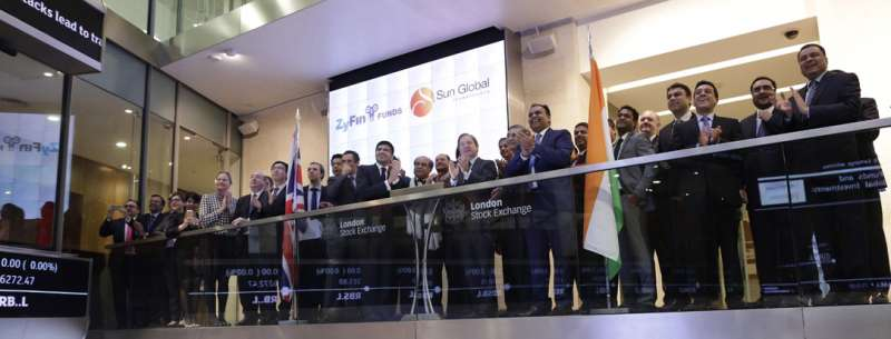 Sun Global and Zyfin list world's first Indian fixed income ELF on London Stock exchange