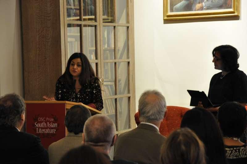 Surina Narula MBE, Co-Founder, DSC Prize addressing the audience