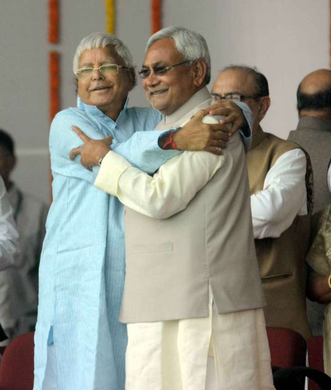 Pics from Nitish Kumar's swearing in ceremony