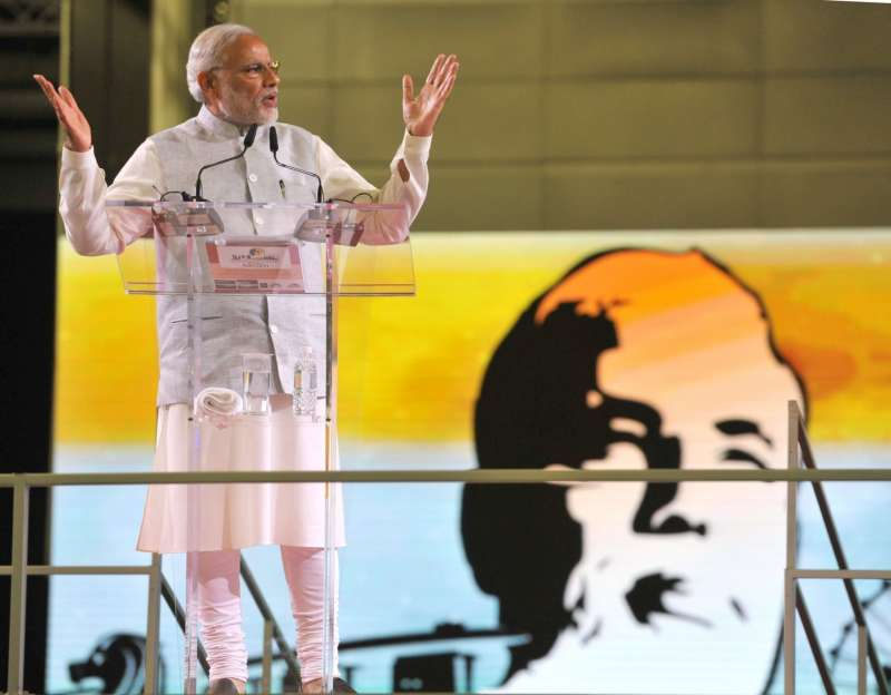 Prime Minister Narendra Modi in Singapore