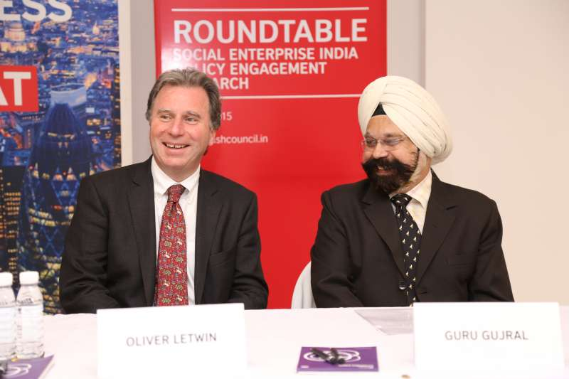 Oliver Letwin during an event in India (File)