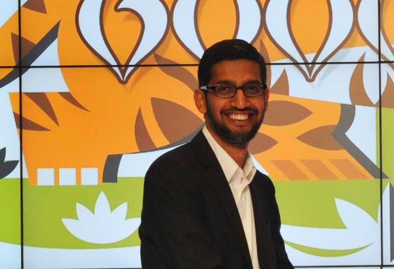 Google Boss Sunder Pitchai