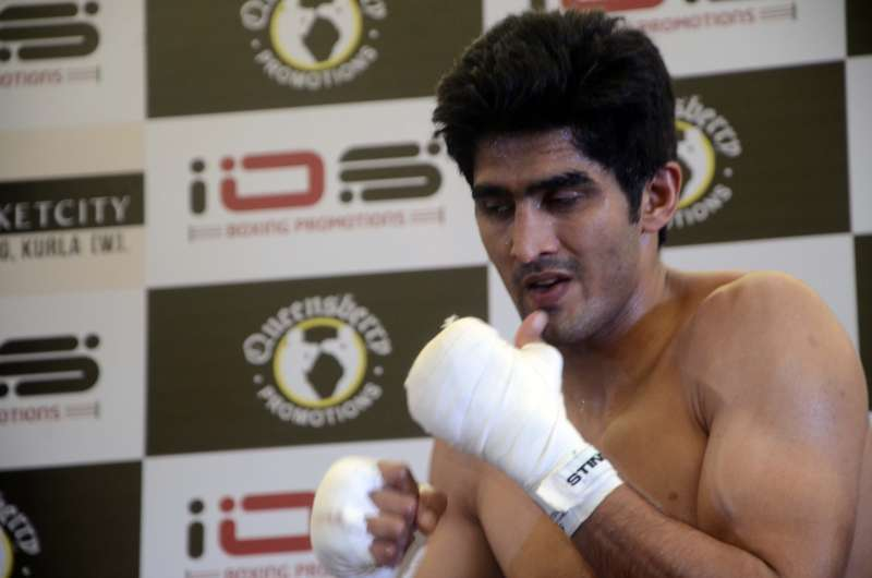 India's Olympic bronze medallist boxer Vijender Singh, who turned professional recently, on Wednesday welcomed the launch of the professional boxing body Indian Boxing Council (IBC) (File)