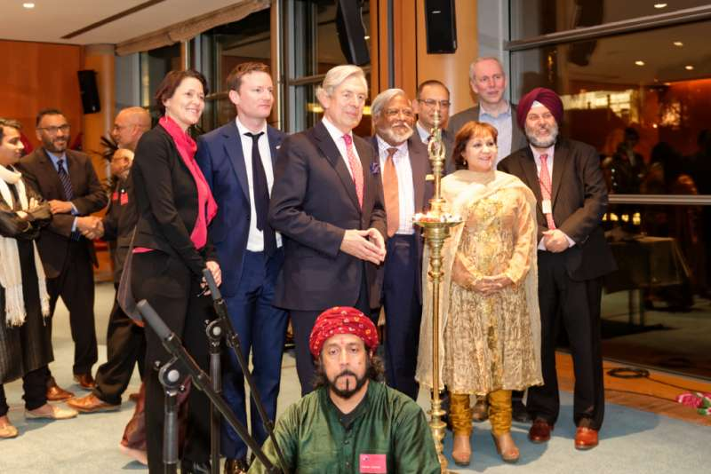 The first ever Diwali event at EU Parliament hosted by Neena Gill MEP, Labour, West Midlands