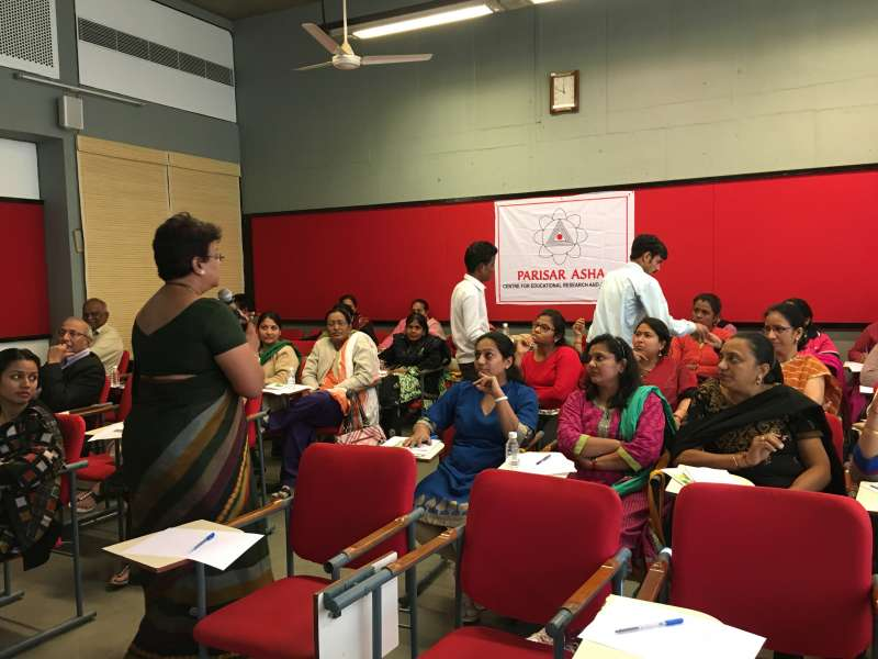 """Parisar Asha conducted a free Seminar & Workshop on """"Art of Learning for a Sustainable Tomorrow """" for Ahmedabad Educationists in association with Vivekanand Institute of Management"""