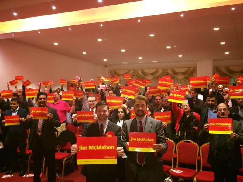 North West MEP Afzal Khan joining the campaign in Oldham