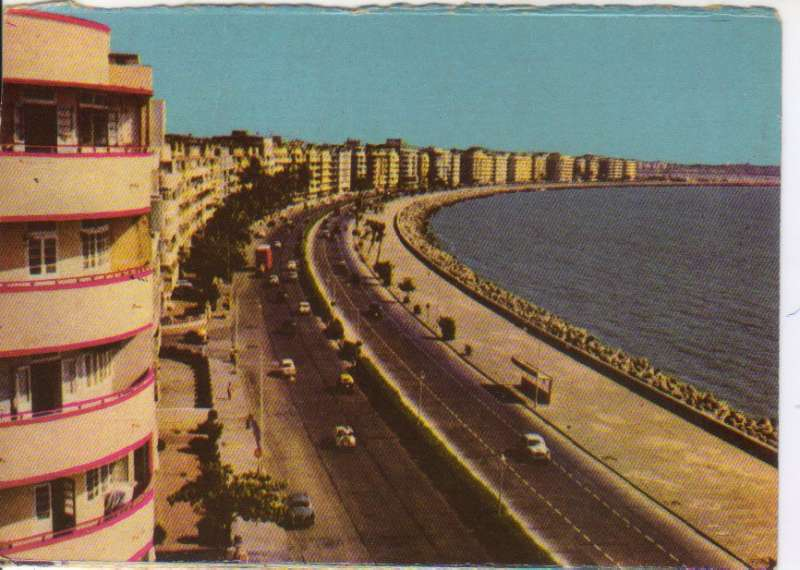 Old Marine Drive-before Nariman point was born to the south