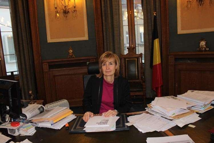 Mayor Francoise Schepmans