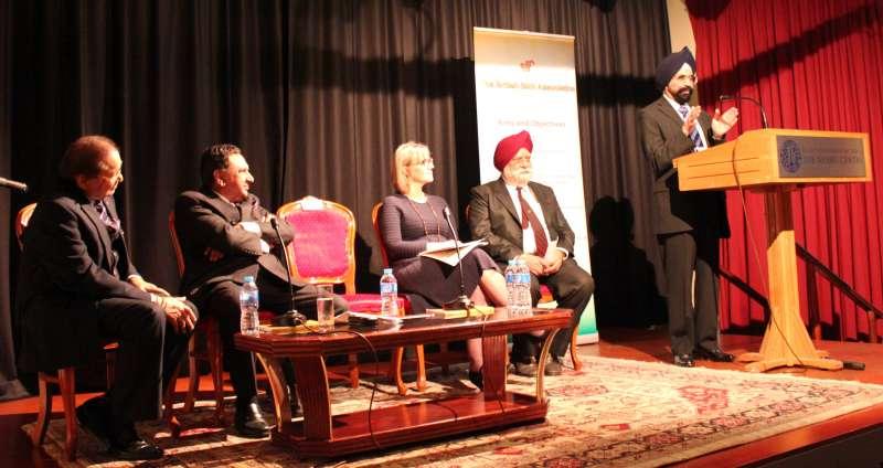 Dr Sukhbir Kapoor OBE, General Secretary of the British Sikh Association speaking on the values of equality espoused by Guru Nanak