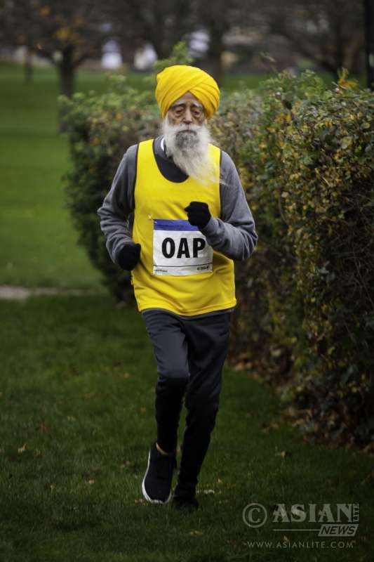 104 year old marathon runner, Fauja Singh redefines OAP for Ford Unlearn, as an inspirational campaign ambassador