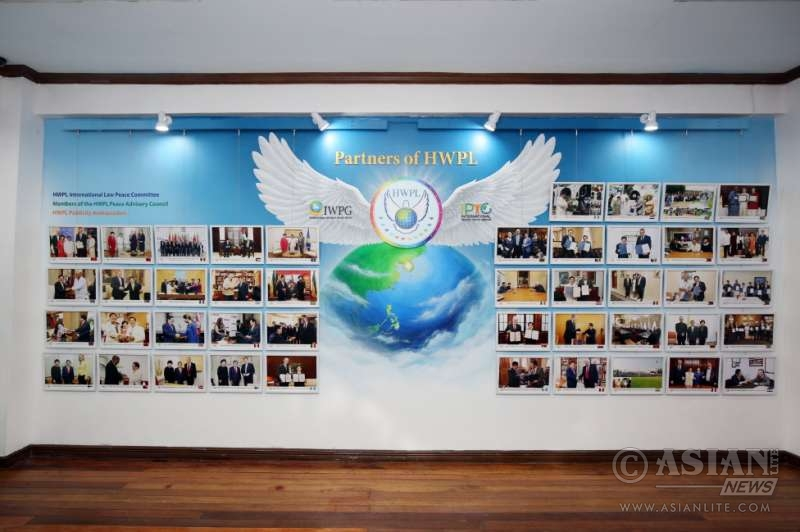 Mueso Dabawenyo as HWPL Peace Museum and indoor exhibition