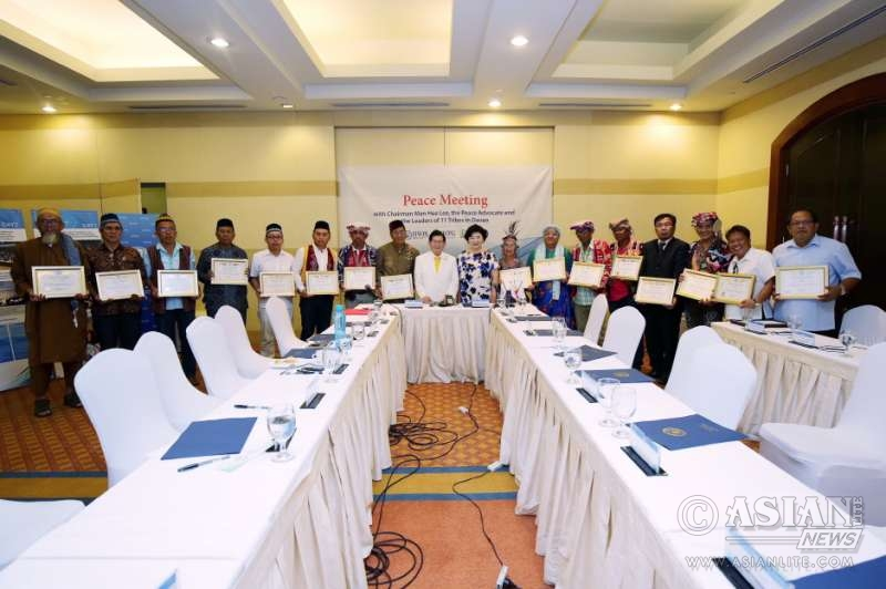 Representatives of 11 tribes of Davao are appointed as HWPL publicity ambassadors