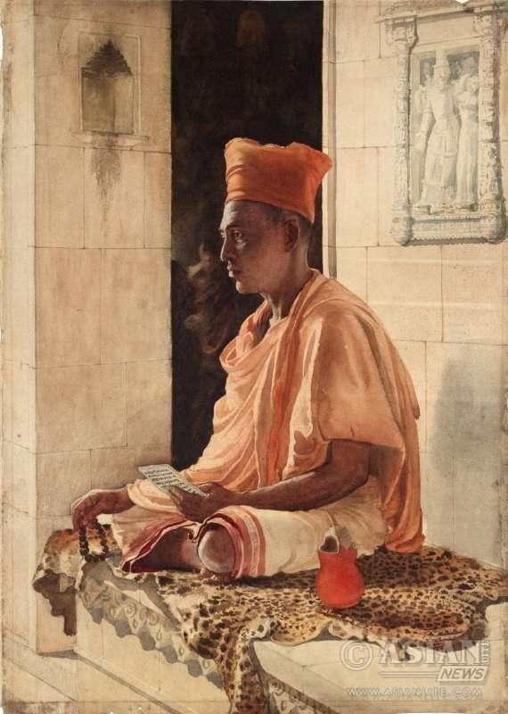 A Sannyasi- A Religious Mendicant, John Griffith, exhibited 1882 Tate