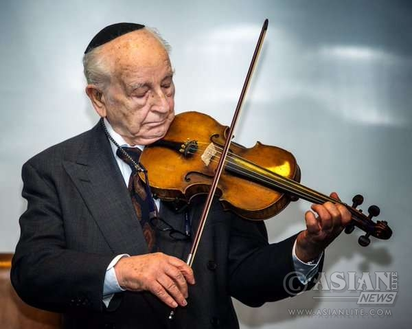 Chaim (Henry) Ferster MBE, 93 at MGS