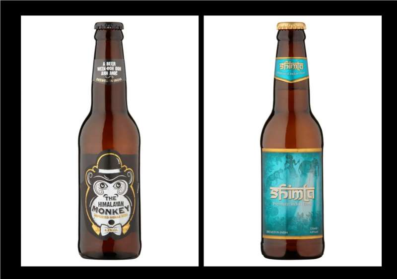 East End Beers: Himalayan Monkey: Fancy a cheeky one? Eye catching bottle design will be a hit with younger drinkers seeking an authentic Indian beer experience. Shimla Beer: 'Mature' consumer will appreciate the smoothness of Shimla Beer… A true Indian beer, which is actually brewed and bottled in India.