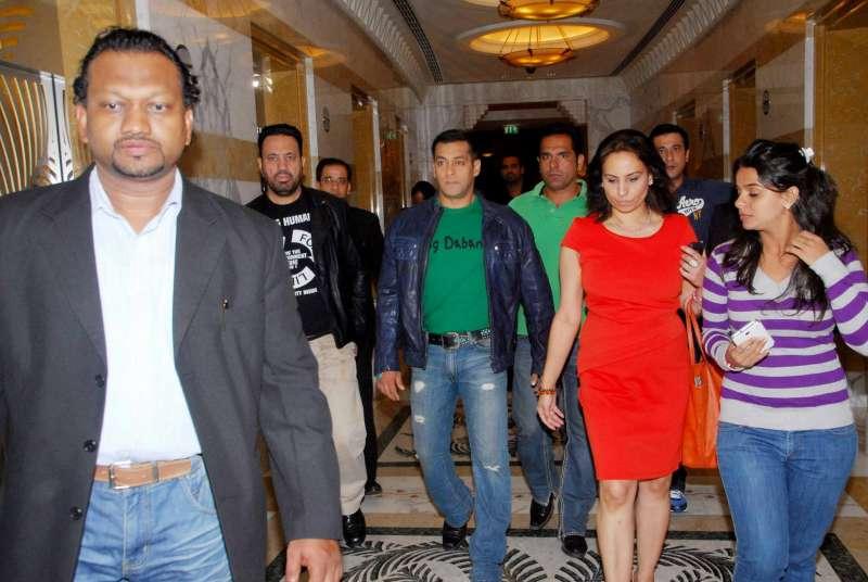 Faz Zia – Entrepreneur, with Bollywood superstar Salman Khan
