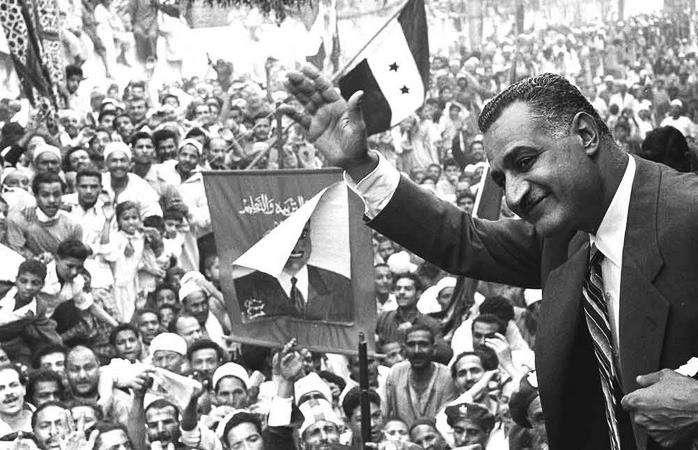 Iconic Egyptian and Arab leader Gamal Abdel Nasser