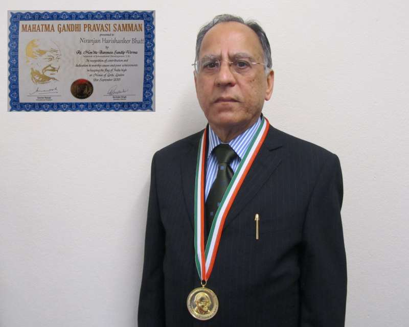 Mr Niranjan Bhatt,