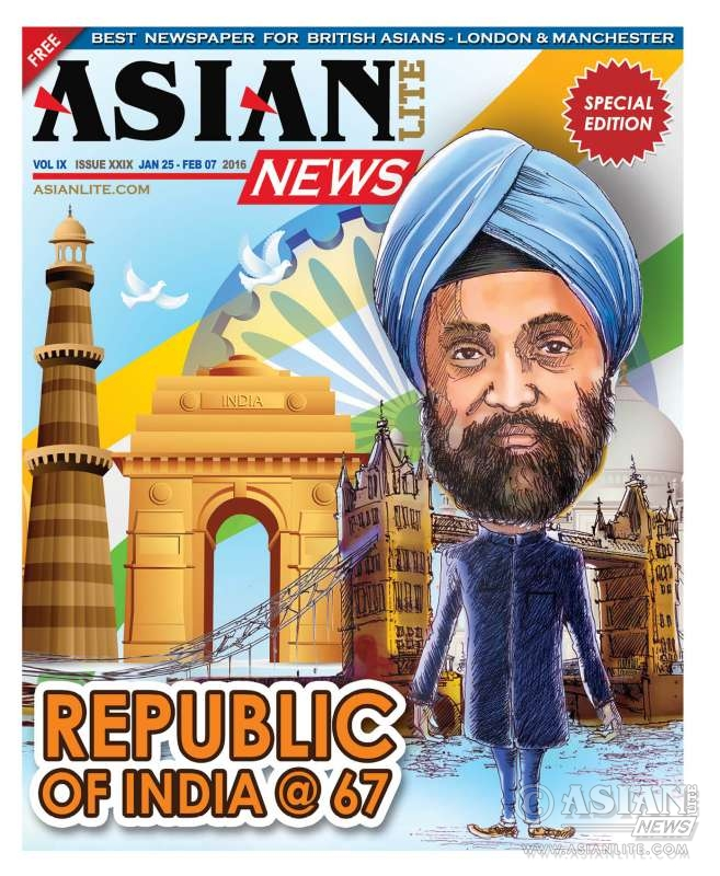 Republic Day cover Navtej Singh Sarna