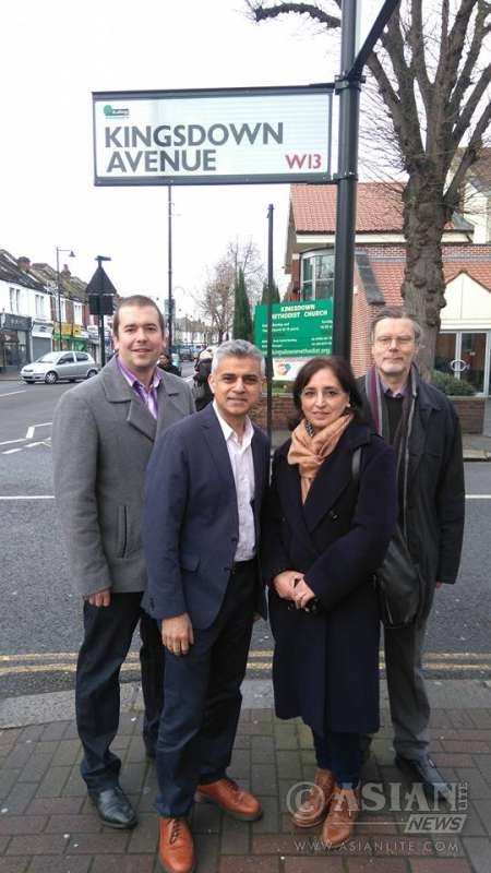 Sadiq Khan MP, Labour Party's mayoral candidate