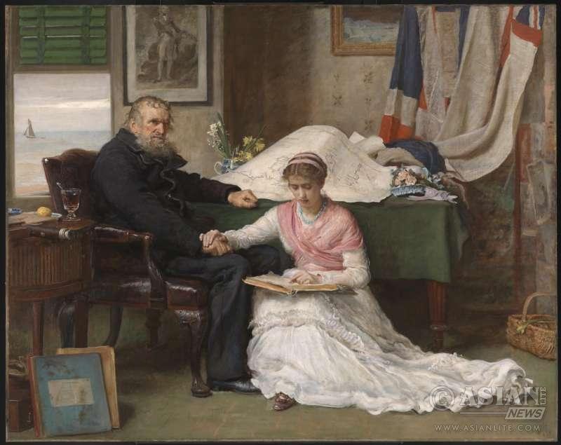 Sir John Everett Millais, Bt The North-West Passage 1874